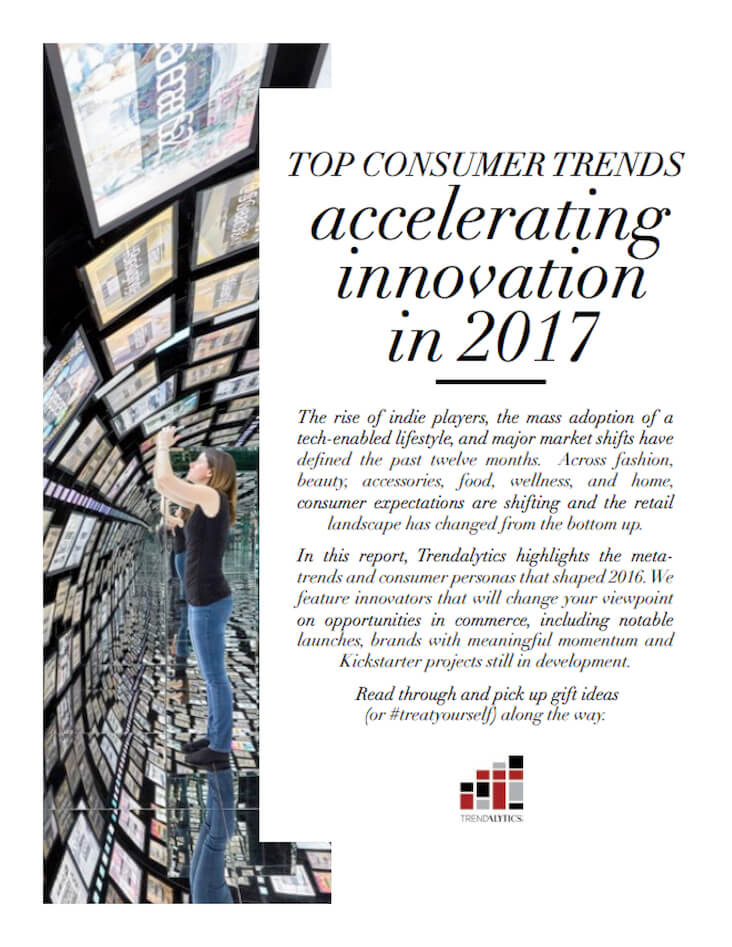 cover page of intelligence report on consumer trends