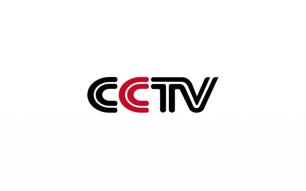 cctv media logo in red and black