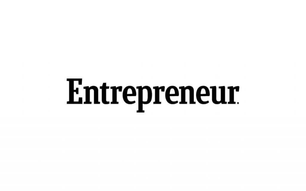 entrepreneur magazine logo in black and white