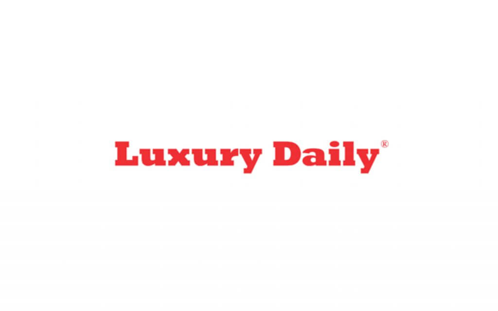 luxury daily magazine logo bright red