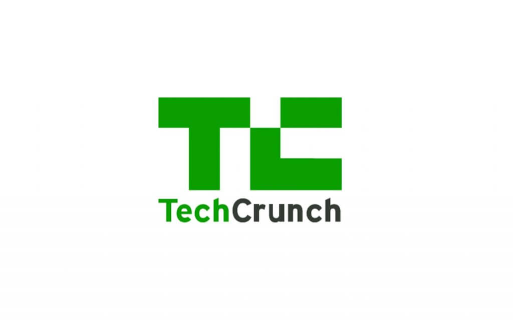 techcrunch logo bright green