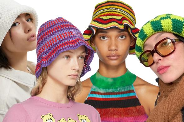 Crochet Bucket Hats Trend