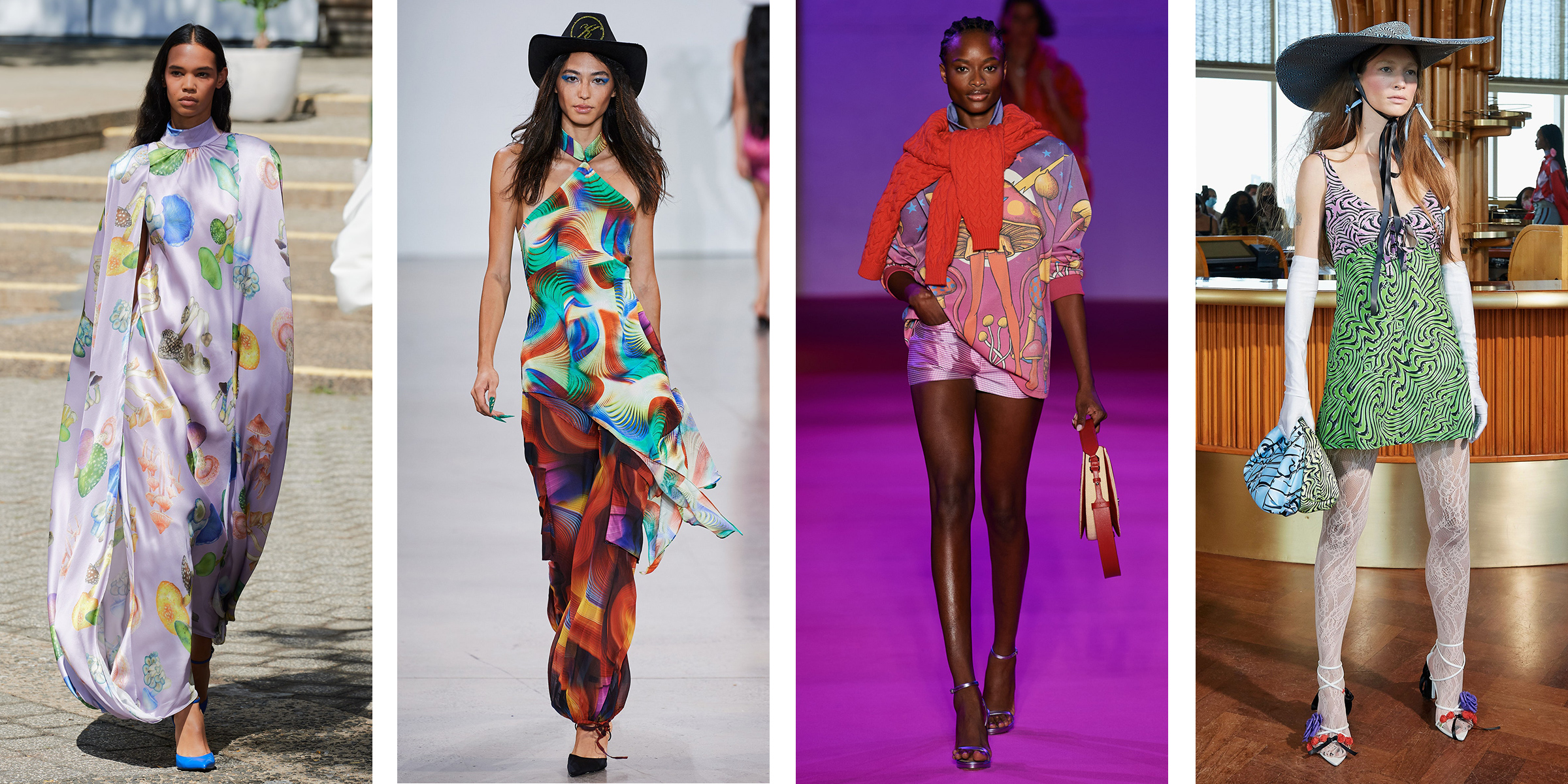 NYFW Spring 2022 Psychedelic